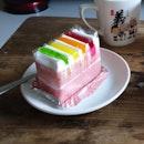 Traditional Rainbow Cake ($2.20)