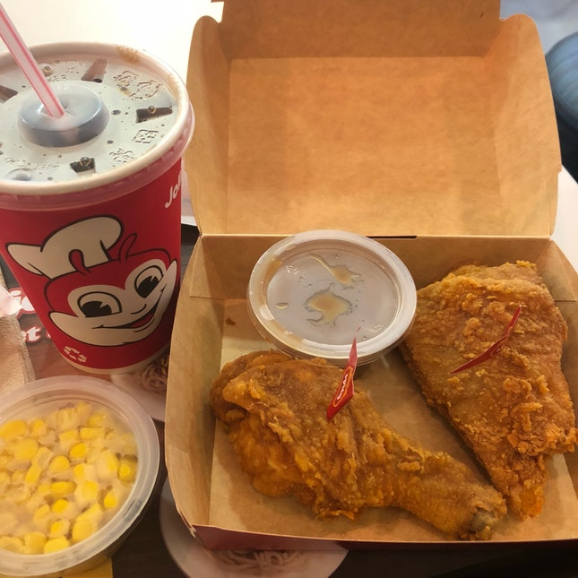 Spicy Jollijoy Meal With 2 Sides ($7.75)