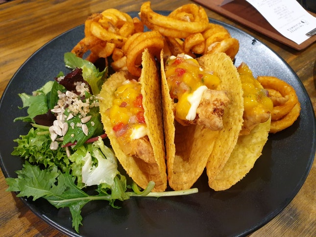 Tacos With Fish Fillet