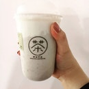 Back at Moge Tee, this time trying their Taro Bubble Milk  #burpple #bobakl