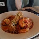 Seafood Marinara Linguine
