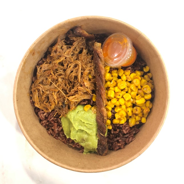 Carnitas Pulled Pork Bowl