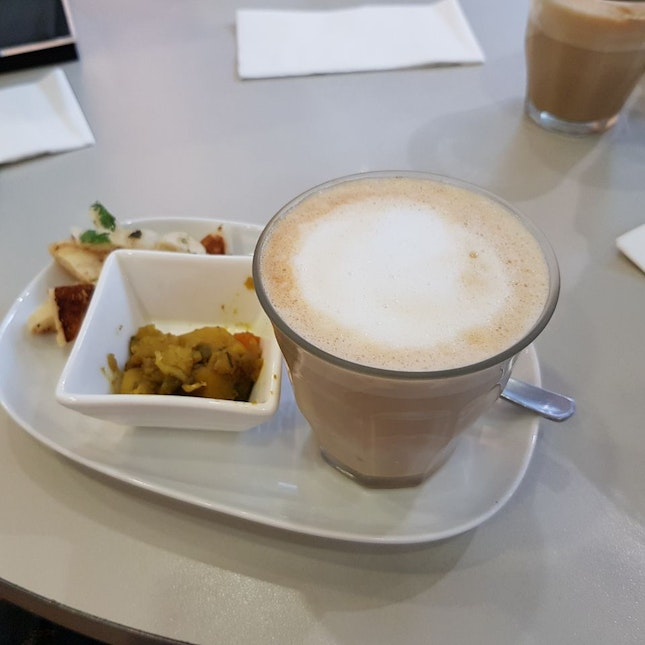 Free Latte And Naan