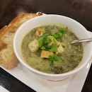 Spinach Soup Of The Day