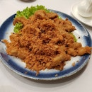 Eggplant And Pork Floss