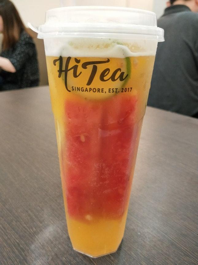 The Mixed Fruit Oolong Tea.