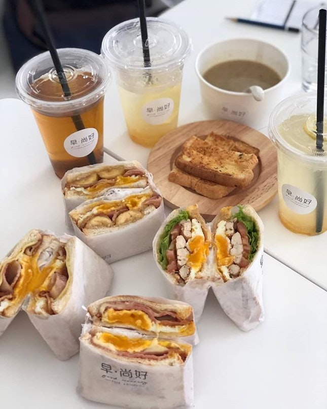 Carrying on from the Egg Stop craving madness in Korea, 早尚好 gives a local twist to the boutique sandwich scene.