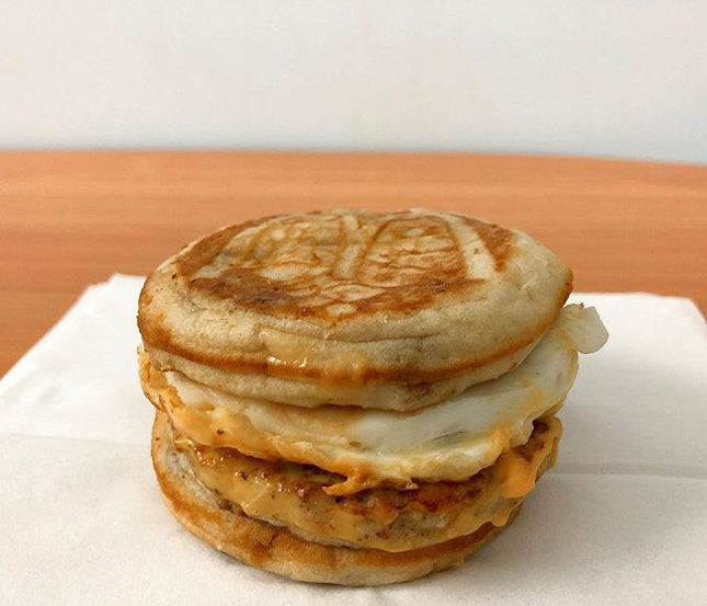 Do you have moments when you couldn't decide between a sausage egg muffin and hot cakes?
