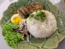 Grilled pork collar Rice
