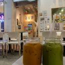 Thai milk yea & Green milk tea