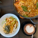 Hearty Korean food at a neighbourhood cafe