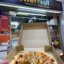 Alleged world's thinnest crust pizza