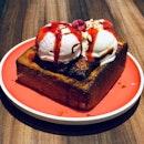 Honey Brioche Bread Toast