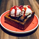 Honey Brioche Bread Toast