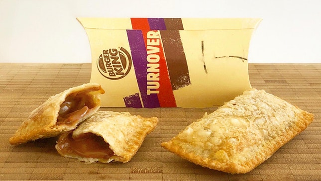Burger King's Teh Tarik Pie