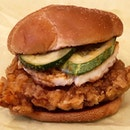 Nasi Lemak Burger ($6.45)