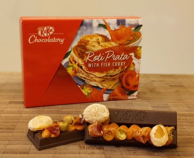 [NEW] KitKat Chocolatory's Roti Prata with Fish Curry ($7.50)