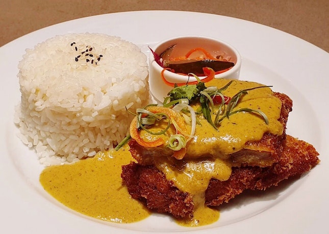 [NEW] Rendang Pork Cutlet ($18)