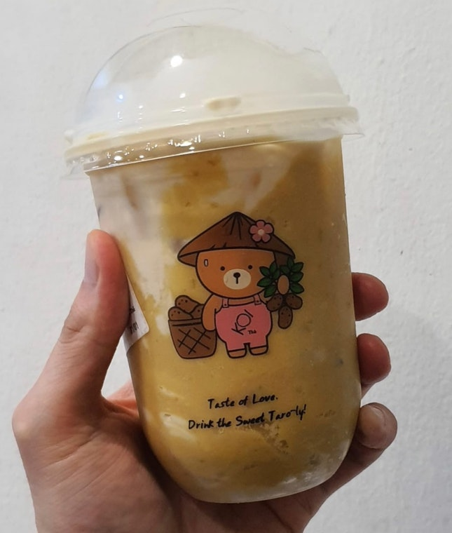 [NEW] Sweet Potato Milk Tea ($5.70)