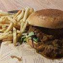 Peranakan Lamb Burger ($25++)