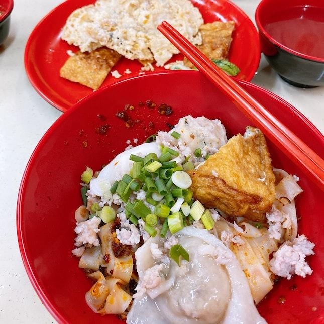 Yummy handmade fishballs and dumplings!