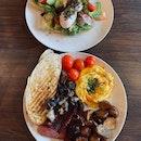 avo toast & big breakfast