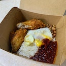 Nasi Lemak Chicken Wing Set