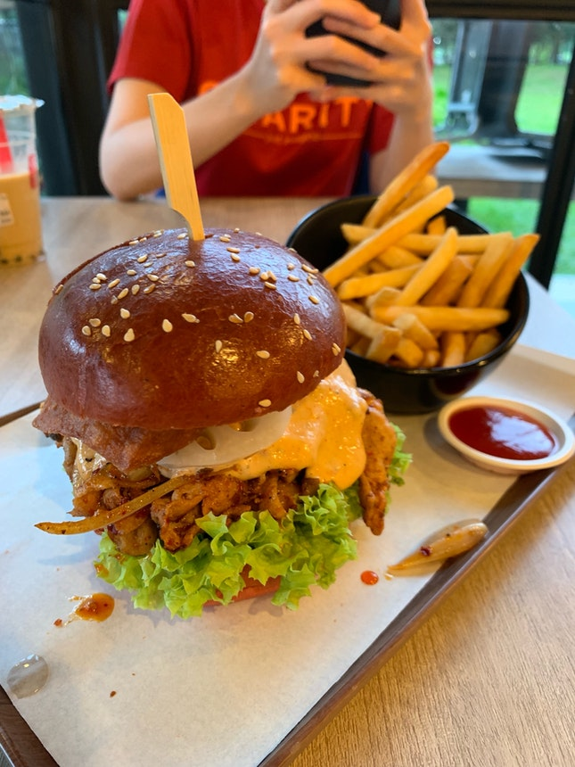 Mala Xiang Guo Burger