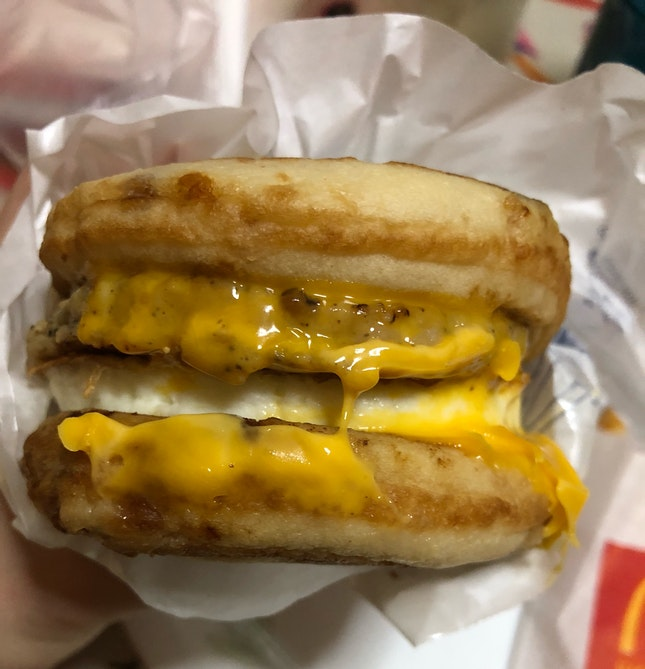 McGriddles With Egg!