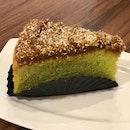 Gula Melaka Pandan Cake ($6)