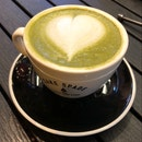 Back Here A Second Day In A Row, But Matcha Latte Is Inconsistent