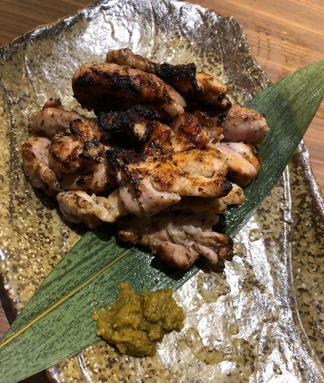 Sumibi Chicken Yakitori ($8.80)