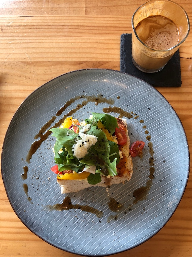 Quaint And Cozy Neighbourhood Cafe Serving Fantastic Toasts & Coffee
