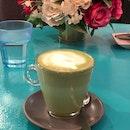 Matcha Latte (Hot, $5)