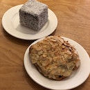 Chocolate Lamington ($5.80) & Chocolate Almond Croissant ($4.30)