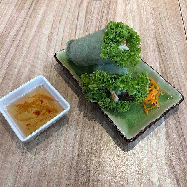 Summer Vegetable Roll ($6.40)