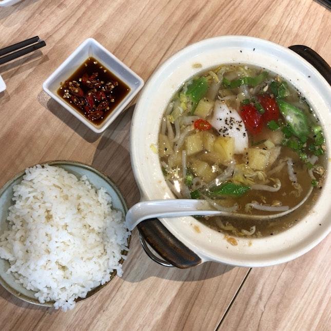 Sweet & Sour Fish Soup