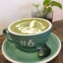 Matcha Latte (Large, $6)