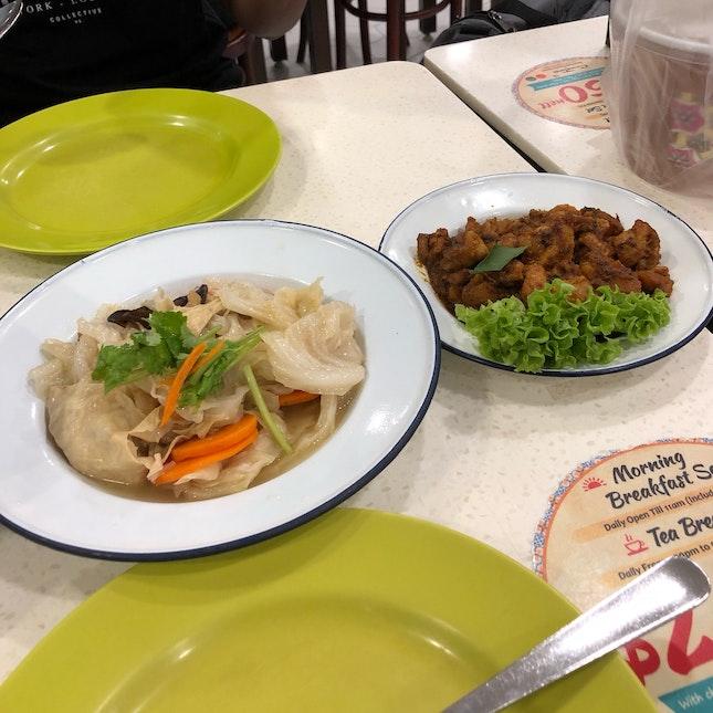 Nyonya Chap Chye & Dry Curry Chicken