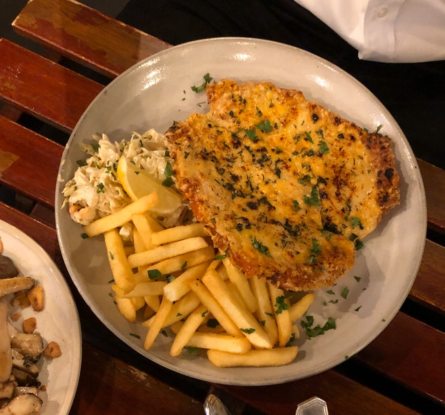 Chicken Parma ($19)