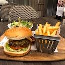 Oakwood Signature Beef Burger