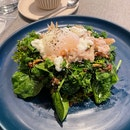 Greens Superfood Platter + Crab Meat