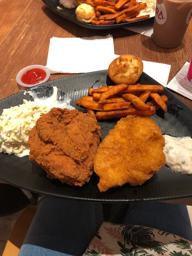 Can't Decide Between Fish Or Chicken?