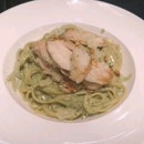 Linguine Pesto Chicken - Okay.
