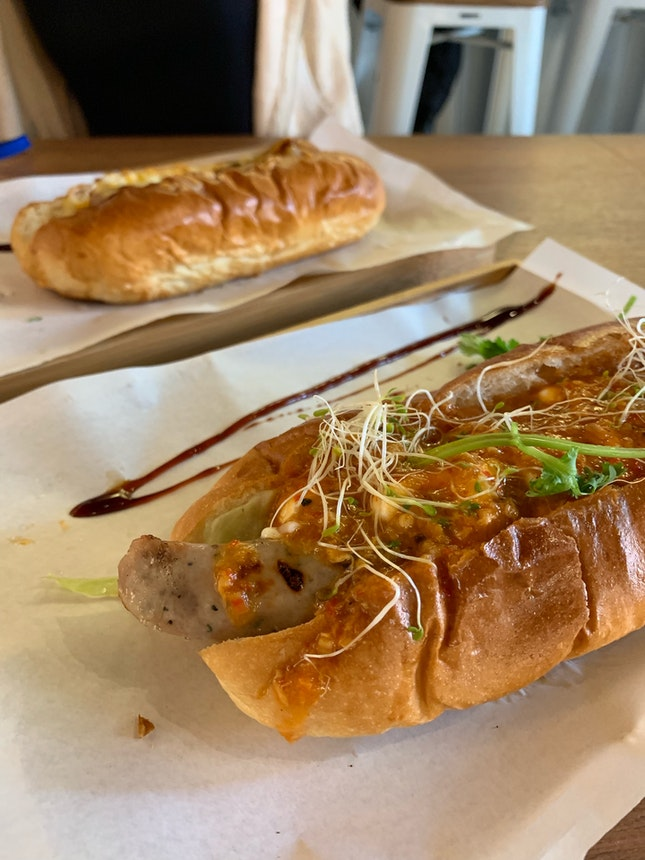 Kurobuta Pork Chilli Crab Dog