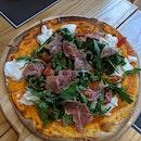 Burrata Parma Ham Pizza