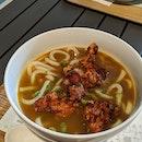 Chicken Karage Curry Udon