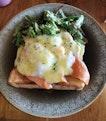 Egg Benedict ($15)