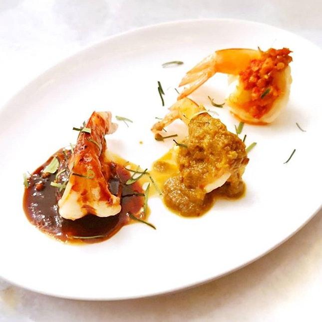 Triple Prawns in Nyonya Sauces || @The_Peranakan .
