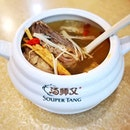 Ginseng Chicken Soup (RM24.90++ for 2 pax) || @SouperTang, @JBCitySquare .